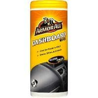 Armor All Dashboard Wipes - Gloss Finish - Pack of 25